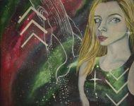Portrait in Nebulae: Jaclyn